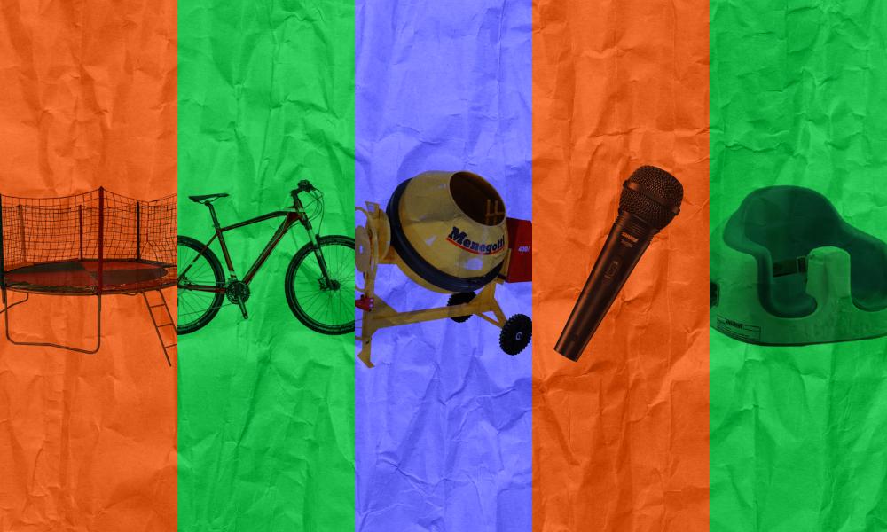 Onde Alugar Brinquedos, Decoração de Festa, Bike e Equipamentos de Construção?